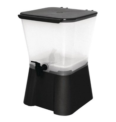 Olympia Waterdispenser Zwart - 11 Liter - 300x300x420(h)mm