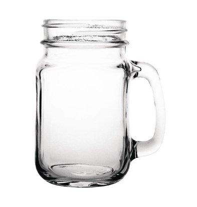 Olympia Glazen Cocktailbeker - Weckpot Stijl - 450ml - 12 Stuks