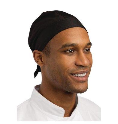 Whites Chefs Clothing Whites Bandana Nevada - Zwart - Universele Maat