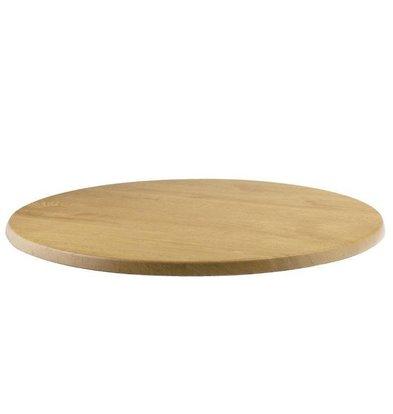 Werzalit Werzalit eiken tafelblad, rond 70cm