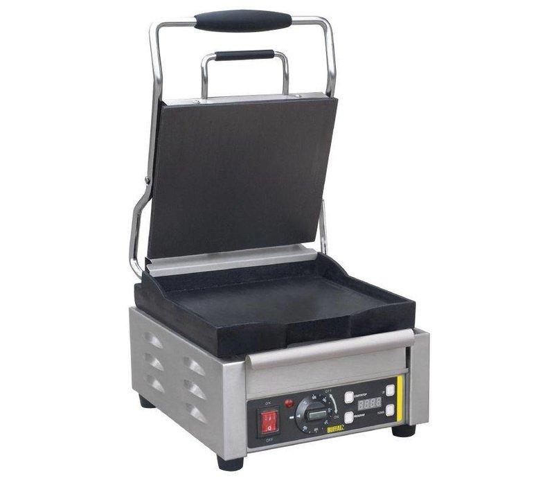 Buffalo Contactgrill Heavy Duty - Glad - 29x40x(h)24cm - 2000W - Digitaal