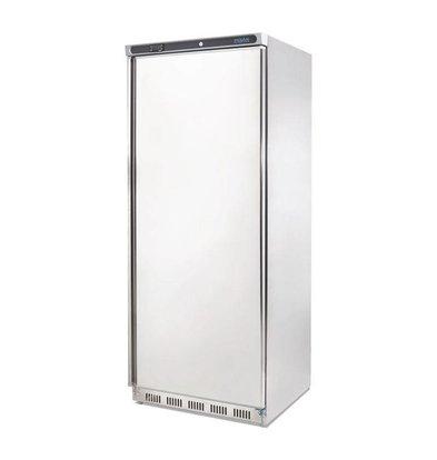 Polar Stainless steel catering fridge - 600 liters - 77x70x (h) 189cm