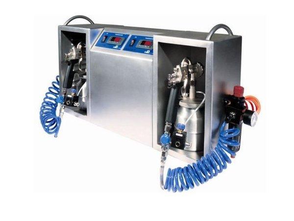 ICB Chocolade Spuitmachine | Spraychoc Maxi | 2 Liter | 700x200x400(h)mm