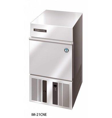 Hoshizaki Ice machine 22kg / 24h | Hoshizaki IM 21CNE | Stock 11,5kg | Ice size L