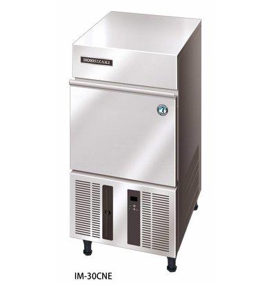 Hoshizaki Ice machine 28kg / 24h | Hoshizaki IM 30CNE | Stock 11,5kg | Ice size L