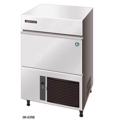 Hoshizaki Ice machine 63kg / 24h | Hoshizaki IM-65NE | Stock 26kg | Ice size L