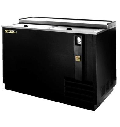 True Fleskoeling - 390x33cl flesjes - 357 Liter - TD-50-18-BLACK - 5 Jaar Garantie - 1261x677x(H)848mm