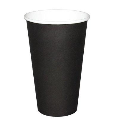Fiesta Hot cups Cup - Black - 45CL - Disposable - Quantity 50