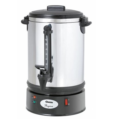 Bartscher Percolator Professional | Ø220x (H) 415mm | 48 Cups | 6.8 Liter