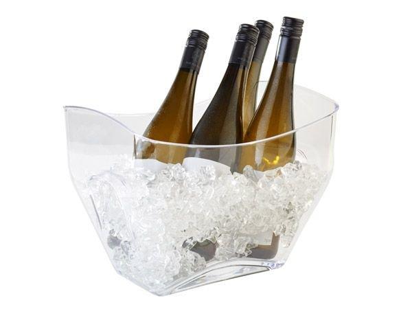 APS FSE Wijn/Champagnekoeler APS | Transparant | 7 Liter | 320x215x247(h)mm