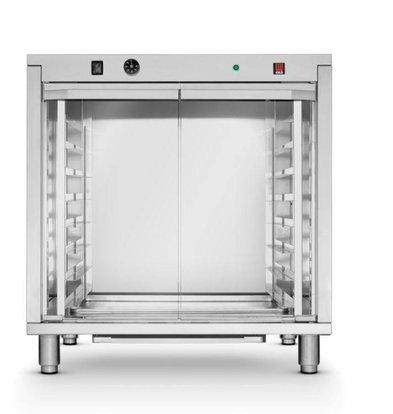 Hendi Rijskast RVS | 8x 600x400mm | 2,4kW/ 230V | 795x655x835(h)mm