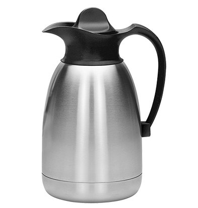 XXLselect Thermos - Stainless steel - screw - 1.5 liters - black