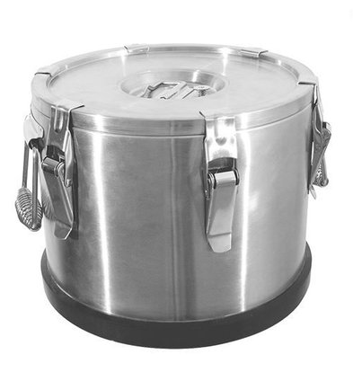 XXLselect Gamel Inox | Dubbelwandig | 15 Liter | Ø330x280(h)mm