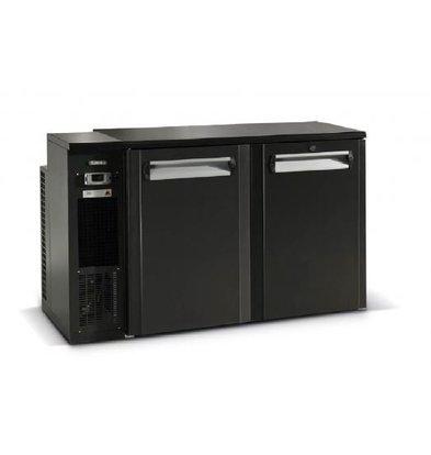 Gamko Fust Cooling 2-Door | Gamko FK2-25 / 8L | Chiller Links | LED Lighting | 1350x567x860 / 880mm