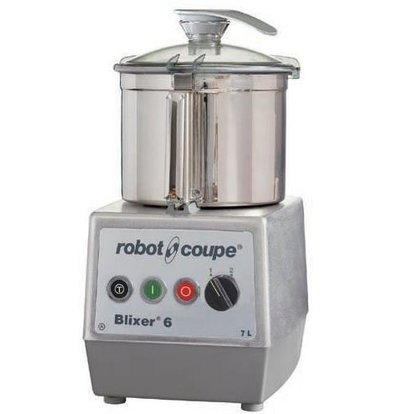 Robot Coupe Blixer 6 - Robot Coupe | 7 Liter | 1,3kW / 400V | 2 Speeds: 1500-3000 RPM