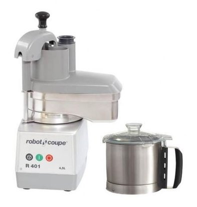 Robot Coupe Combi Cutter & Vegetable Cutter | Robot Coupe R401 | 700W | 4.5 Liter | Speed: 1500 RPM