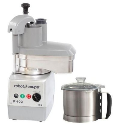 Robot Coupe Combi Cutter & Vegetable Cutter | Robot Coupe R402 | 4.5 Liter | 2 speeds: 500 and 1500 RPM