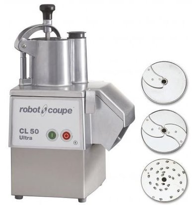 Robot Coupe Groentesnijder   Robot Coupe CL50 Ultra Pizza   tot 250Kg/uur   Snelheid 375 RPM