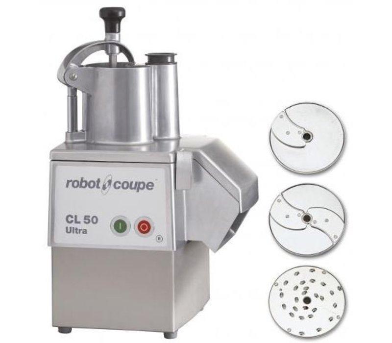 Robot Coupe Groentesnijder | Robot Coupe CL50 Ultra Pizza | tot 250Kg/uur | Snelheid 375 RPM