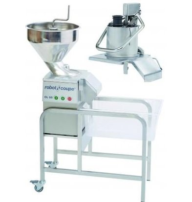 Robot Coupe Vegetable Cutter | Robot Coupe CL55-2 | 2 Openings | 400V | 2 speeds: 375 and 750 RPM