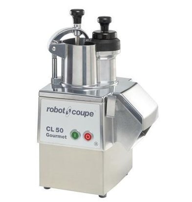 Robot Coupe Groentesnijder   Robot Coupe CL50 Gourmet   400V   tot 250Kg/uur   Snelheid: 375 RPM