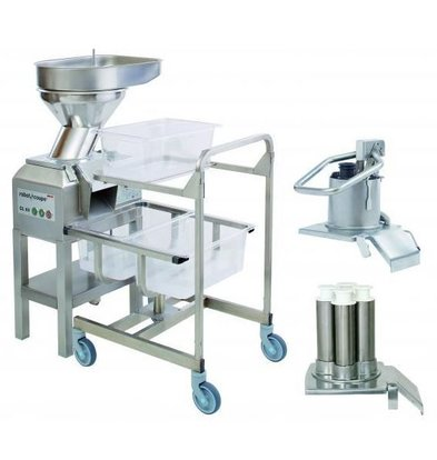 Robot Coupe Vegetable Cutter | Robot Coupe CL60 | 3 Openings | 400V | 2 speeds: 375 and 750 RPM