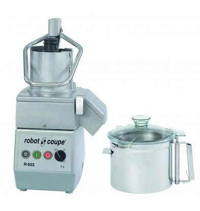 Robot Coupe Combi Cutter & Vegetable Cutter | Robot Coupe R652 | 7 Liter | 400V | 2 speeds: 750 and 1500 RPM