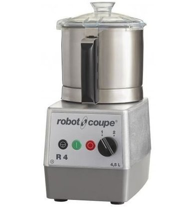 Robot Coupe Robot Coupe Cutter R4 | 400V | 4.5 Liter | tabletop | 2 Speed: 1500 & 3000 RPM