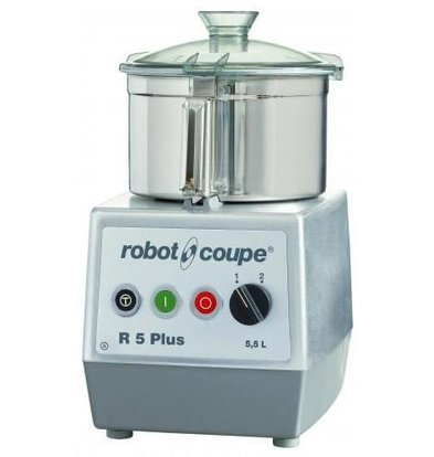 Robot Coupe Robot Coupe Cutter R5 PLUS | 5.5 Liter | 400V | tabletop | Speed: 1500 & 3000 RPM