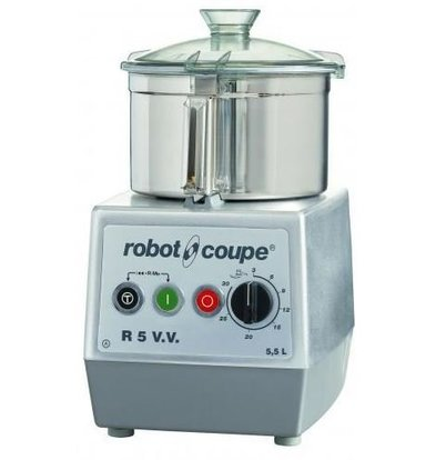 Robot Coupe Robot Coupe Cutter R5VV | 5.5 Liter | tabletop | Variable Speed: 300-3500 RPM