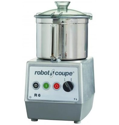 Robot Coupe Robot Coupe Cutter R6 | 400V | 7 Liter | Tafelmodel | 2 Snelheden: 1.500 & 3.000 RPM