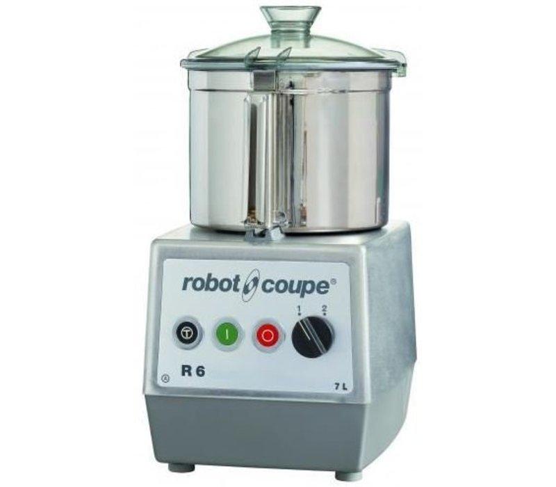 Robot Coupe Robot Coupe Cutter R6   400V   7 Liter   Tafelmodel   2 Snelheden: 1.500 & 3.000 RPM