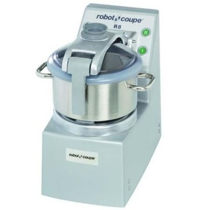 Robot Coupe Robot Coupe Cutter R8 | 400V | 8 Liter | tabletop | 2 Speed: 1500 & 3000 RPM