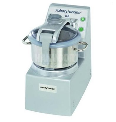 Robot Coupe Robot Coupe Cutter R8SV | 400V | 8 Liter | Vacuum Function | tabletop | 2 Speed: 1500 & 3000 RPM