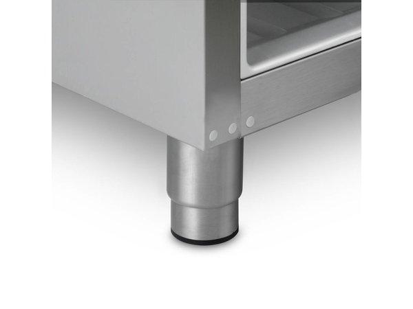 Gram Koelkast Wit met Glasdeur | Gram COMPACT KG 310 LG L1 4W | 218L | 595x640x1300(h)mm