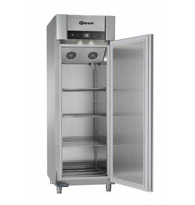 Gram Horeca Freezer Stainless Steel | Gram SUPERIOR PLUS F 72 L CCG 4S | 477L | 720x905x2125 (h) mm