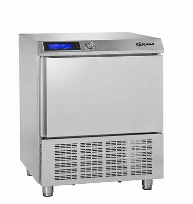 Gram Snelkoeler RVS | 5 x 1/1 GN of 40x60cm | Gram PROCESS KPS 21 CH | 745x720x900(h)mm
