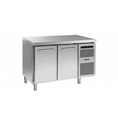 Gram Freeze Workbench 2 Doors   Gram GASTRO 07 F 1407 CSG A DL / DR L2   345L   1289x700x885 / 950 (h) mm