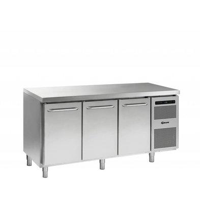Gram Freeze Workbench 3 Doors   Gram GASTRO 07 F 1807 CSG A DL / DL / DR L2   506L   1726x700x885 / 950 (h) mm
