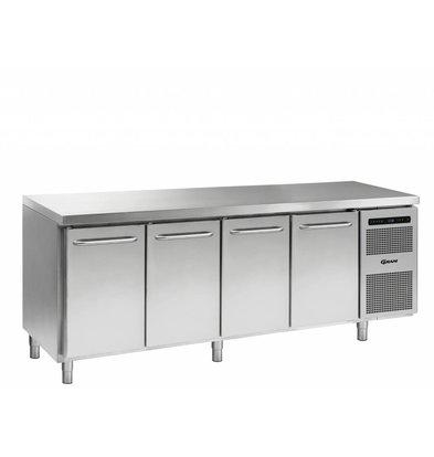 Gram Freeze Workbench 4 Doors | Gram GASTRO 07 F 2207 CSG A DL / DL / DL / DR L2 | 668L | 2163x700x885 / 950 (h) mm