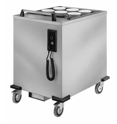 Mobile Containing Heated moveable Stacker | Mobile Containing SHU-MS / B | trays | Stack Unit Tailor Made