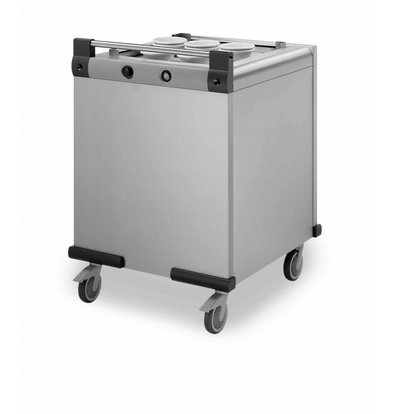 Mobile Containing Heated moveable Stacker | Mobile Containing DFR 650/530 | trays 650x530mm