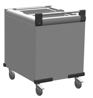 Mobile Containing Wheeled Stacker unheated | Mobile Containing DFR 2 x 530/370 | Trays 2x 530x370mm