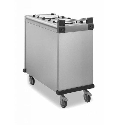Mobile Containing Verrijdbare Stapelaar Onverwarmd | Mobile Containing DFR 1 x Dienbladen | Stapelunit op Maat Gemaakt