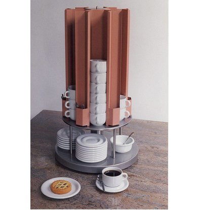 Mobile Containing Cup warmer Carousel | Mobile Containing KCV 60/75 | Cups 60-75mm | 685 (h) mm