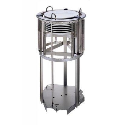 Mobile Containing Inbouwstapelaar Onverwarmd | Mobile Containing T 245 | Borden 150-220mm