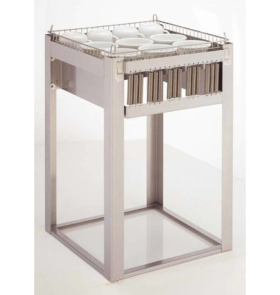 Mobile Containing Recessed Stacker unheated | Mobile Containing OR C / B | Pots for 500x500mm