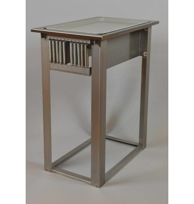 Mobile Containing Recessed Stacker unheated | Mobile Containing FOR-C / D | Trays for 460x360mm