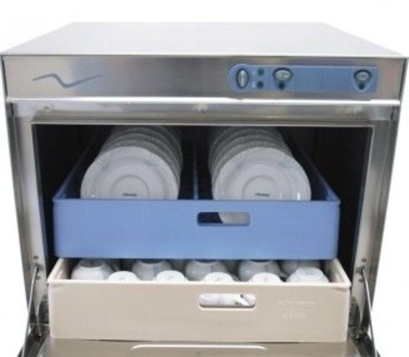 Rhima Vaatwasmachine 50x50cm | Rhima DR50S | Keuze 230/400V | Incl. Waterontharder | 590x600x850mm
