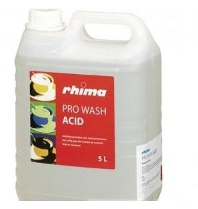 Rhima Ontkalkingsmiddel Pro Wash Acid | PE-Can 10x 1 liter